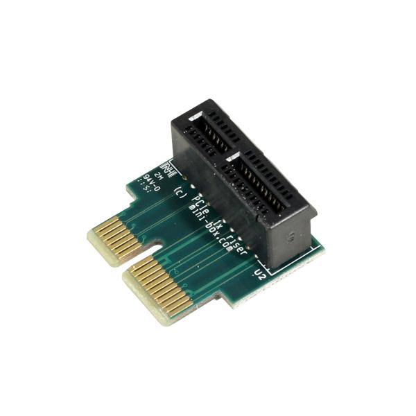 Mini Box Com Pcie 1x Riser Adapter Different Views